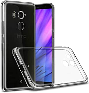 HTC U11 Plus TPU Silicone Soft Thin Back Case For HTC U11 Plus Clear Cover By Muzz