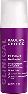 Paula's Choice CLINICAL 1% Retinol Treatment Cream with Peptides, Vitamin C & Licorice Extract, Anti-Ageing & Wrinkles, 30...