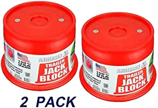 Andersen Hitches 3608 | 2-Pack Trailer Jack Block with Magnets