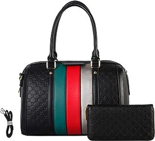 Women's Fashion Handbags Shoulder Bag Designer Satchel Purse Tote Top Handle Work Bag 2pcs Set with coin Wallets for Ladies
