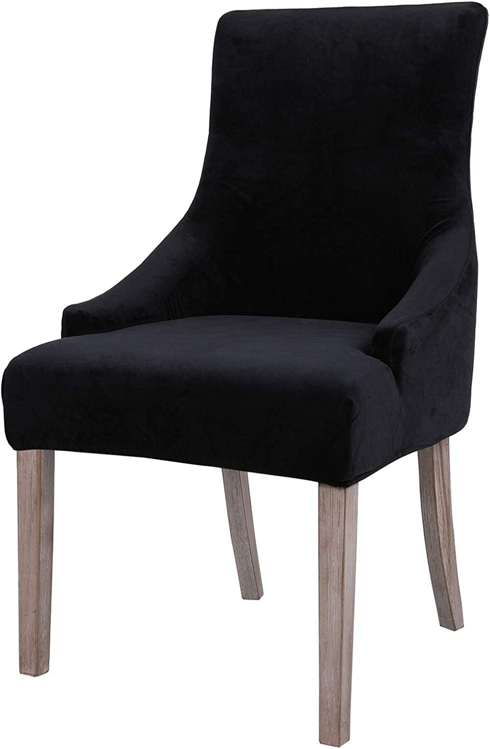 smiry Velvet Tufted Dining Chair Manufacturer direct delivery Wingback Si Fit Finally resale start Covers Stretch
