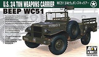 Unbekannt AFV Club 35S15–Model Kit Wc 514x4Weapon Carrier DODG