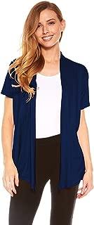 Cardigans for Women - Short Sleeve Womens Open Cardigan Sweaters