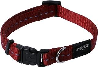 Rogz Reflective Dog Collar, Red Small