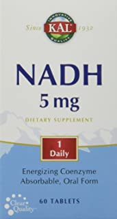 KAL - NADH 5mg, 60 Tablets