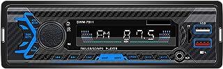 Ronyme Receptor de MP3 Player USB USB 12V LCD para Carro com Controle Remoto