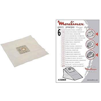 Moulinex A26B09 - Accesorio para aspiradora (170 mm, 250 mm, 5 pieza(s)): Amazon.es: Hogar