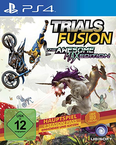 Trials Fusion-  The Awesome Max Edition - [PlayStation 4]