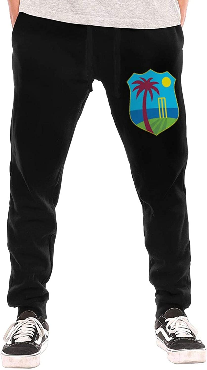 RUIHGK West Indies Cricket Board Flag Men Pants 5 popular Cot Joggers Pure NEW before selling