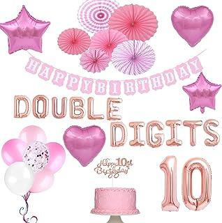 10th Girl Birthday Decorations, 10th Birthday Party...