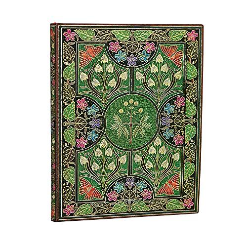 Paperblanks FB5358-3, Flexi a Copertina Morbida Poesia in Fiore, Righe, Ultra (180 × 230 mm)