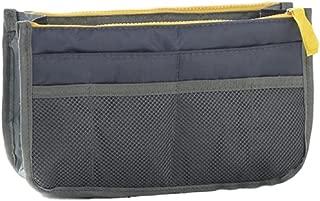 Gacchi56 Bag in bag for Handbag, Insert Organizer Multi-Pockets Purse Handles