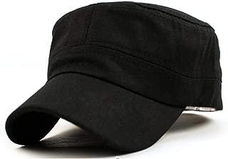 Fashion Men Women Multicolor Unisex Adjustable Classic Style Plain Flat Vintage Army Hat Cadet Patrol Cap Best