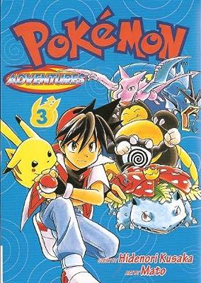 pokemon kanto vol.3 (pokemon aventures) por keiBOOK