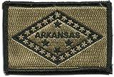 Gadsden and Culpeper Arkansas Tactical Flag Patch (Coyote)