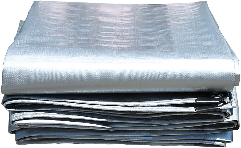 WDXJ Heavy Duty Tarpaulin regendichte Tarp verdicken Wasserdichte Plane Plane Plane Blatt deckt Schuppen Tuch-grau, 200 g m ² (größe   2x3m) B07NZTYL84  Bestseller ceefbd