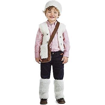 HENBRANDT - Disfraz de Pastor para niños, Color marrón: Amazon.es ...