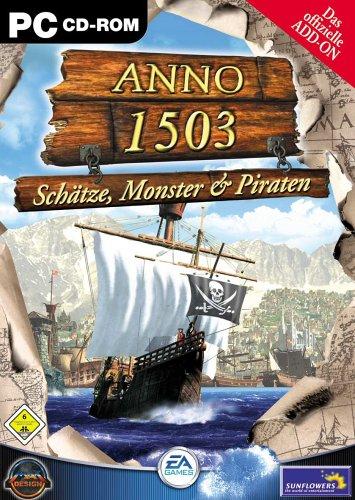 Anno 1503, Schätze, Monster & Piraten, Das offizielle Add-On, CD-ROM Für Windows 98/2000/ME/XP