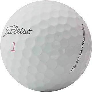 Titleist 25 Pro V1x - Pelotas de Golf (AAA), Color Blanco