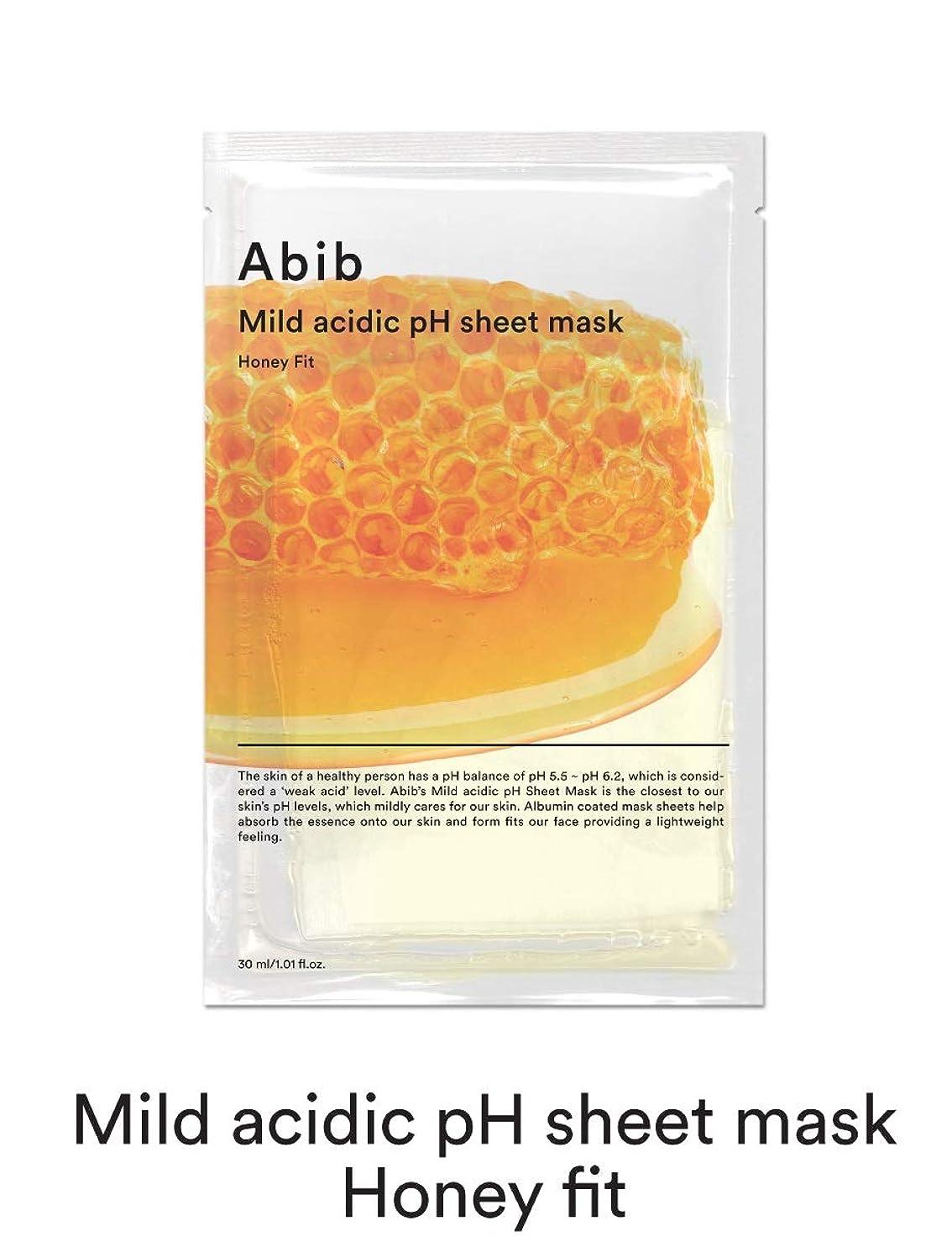 上記の頭と肩マークされた誰が[Abib] アビブ弱酸性pHシートマスクハニーフィット 30mlx10枚 / ABIB MILD ACIDIC pH SHEET MASK HONEY FIT 30mlx10EA [並行輸入品]