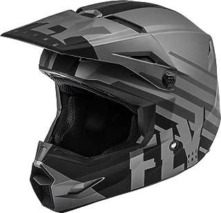 Fly Racing 2020 Kinetic Helmet - Thrive (X-Large) (Matte Dark Grey/Black)