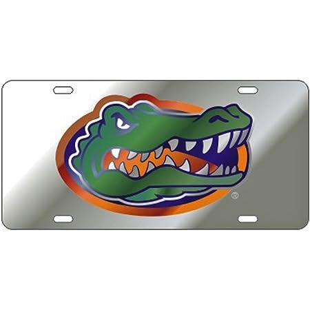 Craftique Florida Gators Mirror Laser Cut License Plate - Gator Logo