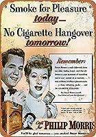 Philip Morris Cigarette 金属板ブリキ看板警告サイン注意サイン表示パネル情報サイン金属安全サイン
