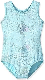 Leotards for Girls Ballet Gymnastics Long Sleeve Sparkles Aqua Blue Pink Purple