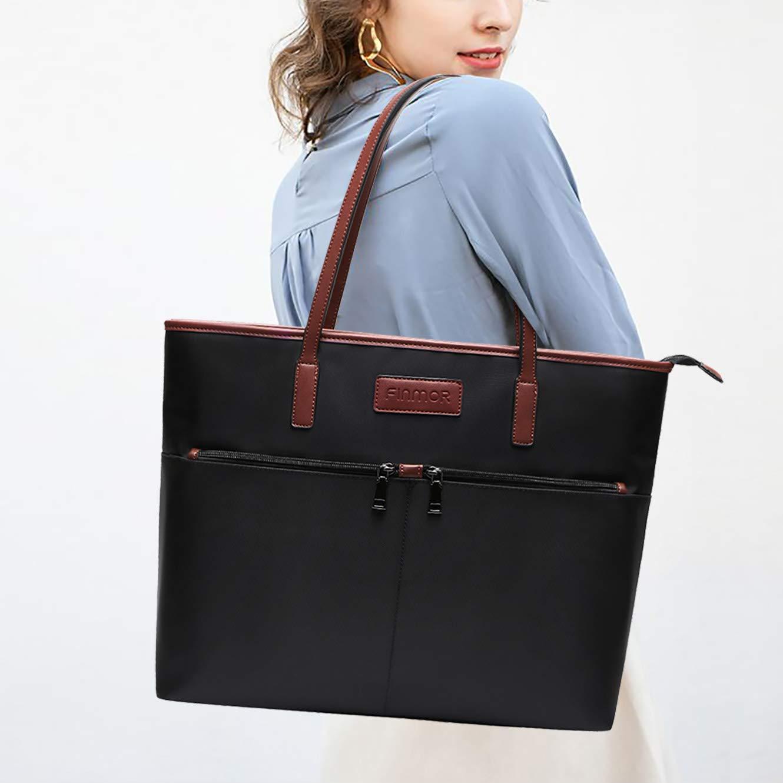 Laptop Bag Women 15 6 Lightweight Computer Purse Bags Work Tote Bags