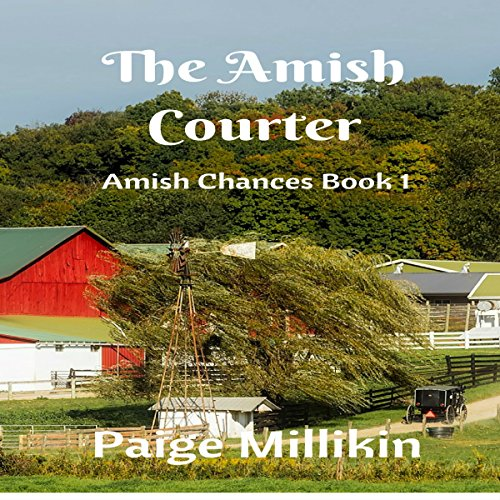 The Amish Courter audiobook cover art
