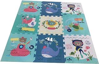 comprar comparacion Babify Alfombra Puzzle para bebés Toy Planet - Espesor 2 cm, Antideslizante, Extragrande, Reversible, Impermeable, portáti...