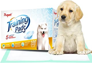 Thxpet Puppy Training Dog Pee Potty Pet Piddle Pads Super Absorbent Leak-Proof