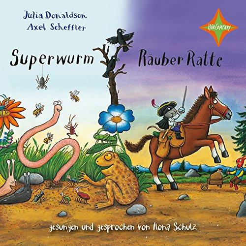 『Superwurm und Räuber Ratte』のカバーアート