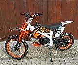 125ccm Dirtbike Pitbike 4 Takt 4 Gang Manuell 17/14 Zoll Orange 125cc Motor Enduro Cross Bike...