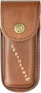LEATHERMAN - Heritage Leather Snap Sheath for Multitools, Small (Fits Rebar, Wingman, Rev, and Sidekick)