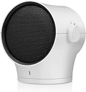 ZHHL Calefactor De Ventilador, Radiadores Portátiles Oscilante Calentador Cálido Y Fresco Tabla Mini PTC Ceramic Heating Volcar Sobrecalentar Proteccion