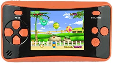 """HigoKids Portable Handheld Games for Kids 2.5"""" LCD Screen Game Console TV Output Arcade Gaming Player System Built in 182 ..."""
