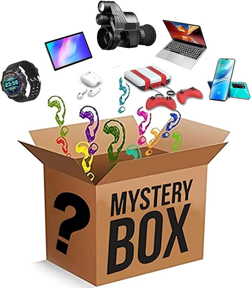 Mystery-Boxen, Glücksboxen und Mystery-Artikel umfassen Dekorationen, Elektronik, Spielzeug, Haushaltswaren, Fitness-, Sport- und Outdoor-Produkte. Alles ist möglich! (Zufällig)