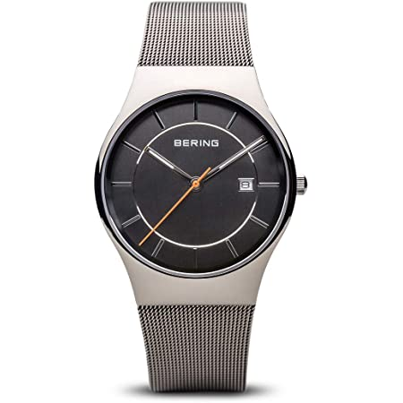 BERING Men's Analogue Quartz Watch with Stainless Steel Strap 11938-007