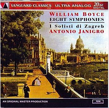 William Boyce: Eight Symphonie (William Boyce: Eight Symphonies )