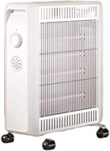 Radiador, Calentador De Cerámica, Radiadores De Columna, Aire Acondicionado Ecológico, Potencia 2200W, IPX4 A Prueba De Agua, 110V / 220V, Elemento Calefactor Infrarrojo De Fibra De Carbono, Blanco