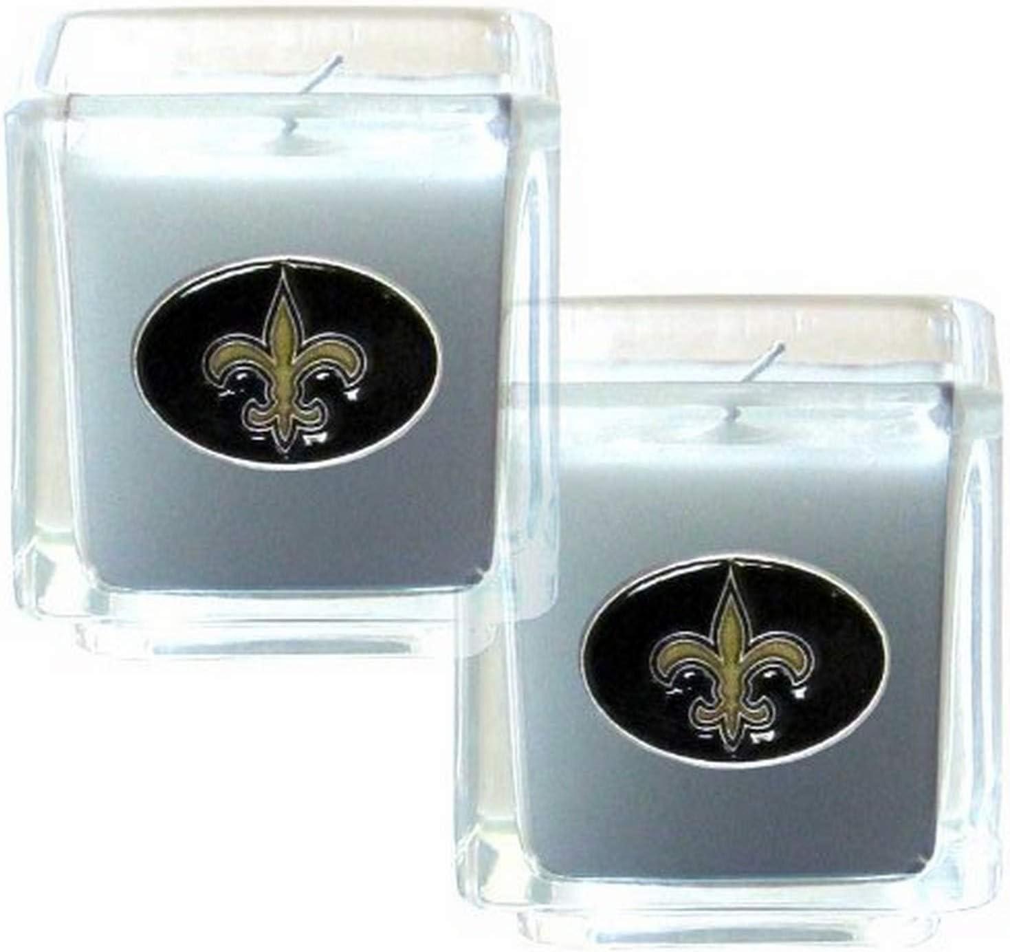 NFL New Orleans service OFFicial store Candle Set Saints