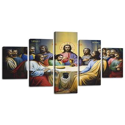 Large Christ Christian Canvas Wall Art Prints J...