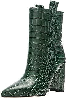 MisaKinsa Women Fashion Ankle Boots Autumn High Top Shoes
