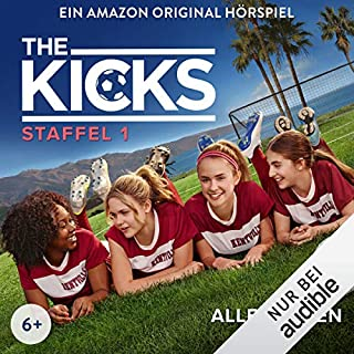 The Kicks: Die komplette 1. Staffel                   Autor:                                                                                                                                 Alex Morgan,                                                                                        Barbara van den Speulhof                               Sprecher:                                                                                                                                 Moritz Pliquet,                                                                                        Paulina Rümmelein,                                                                                        Lara Jund,                   und andere                 Spieldauer: 4 Std. und 39 Min.     11 Bewertungen     Gesamt 4,9