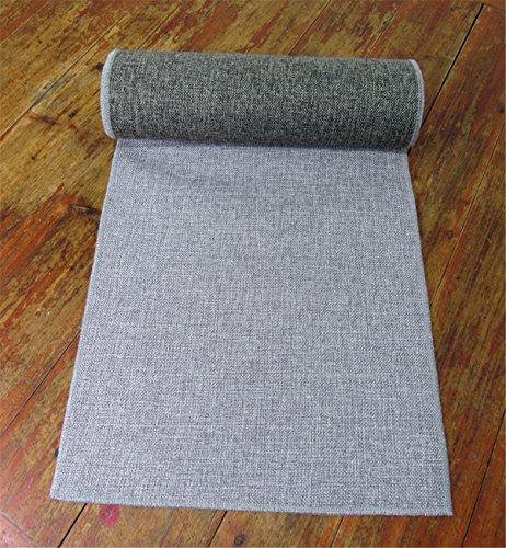 Sucastle® 35x150cm tissu Chemin de Table Cuisine Imperméable Décoration en Aspect naturel