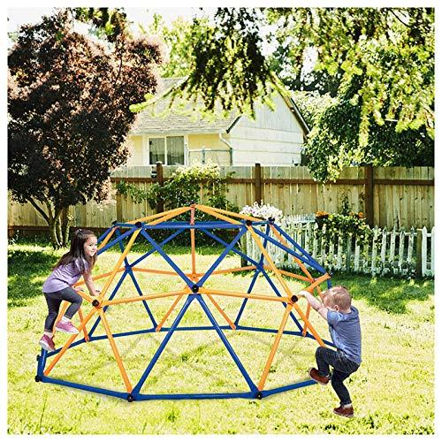 XIJING Geometric Dome Climber für Kinder im Freien Klettergerüst Decagonal Geo Jungle Gym Einfache Montage für Hinterhofspielplatz