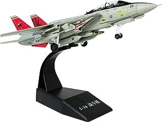 Lose Fun Park 1: 100 Modelo de avión Militar America F-14 Aleación Fundida a Presión Modelo de avión de Combate