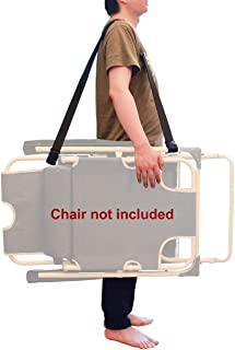 WINGKIND Adjustable Beach Chair Carry Strap, Folding Chair Shoulder Strap for Beaches, Camping, Backpacking, Picnics and Other Items