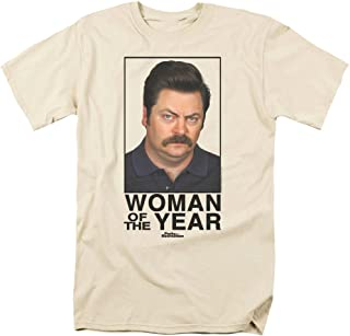 Popfunk Parks & Rec Ron Swanson Woman of The Year T Shirt